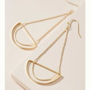 Anthro Carissa Drop Earrings